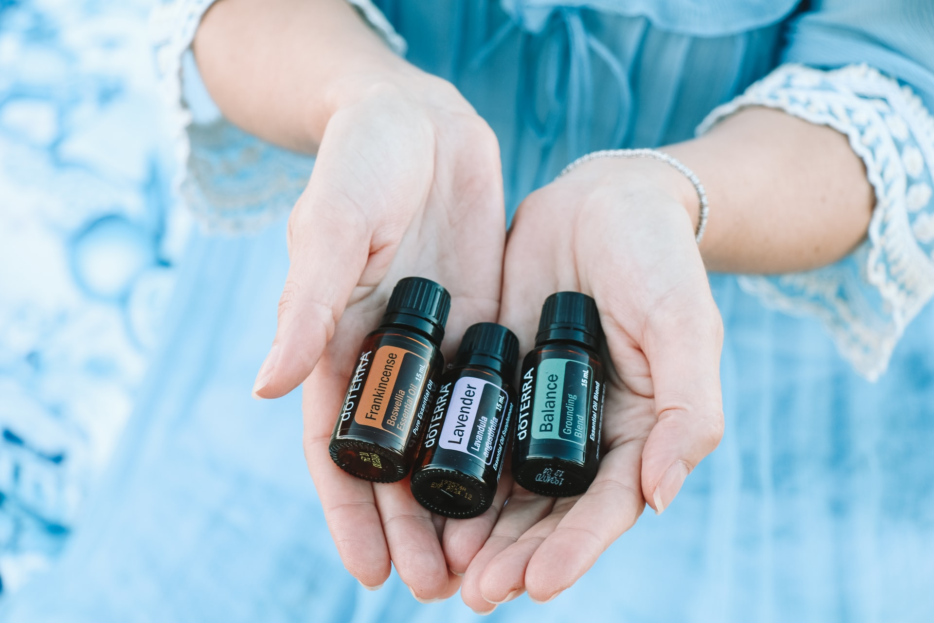 home remedies for body odor with Essential Oils